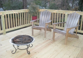Outdoor Wood Deck